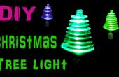 Drehenden Weihnachtsbaum Licht mit LED's und Spielzeug Motor machen