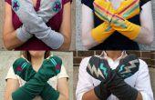 Wie erstelle ich Superhelden Armstulpen aus einem alten T-shirt