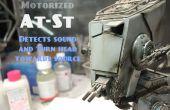Motorisiert, Sound Star Wars At-St Bandai Modell mit Arduino zu reagieren.