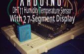 Arduino-Temperatur und Luftfeuchtigkeit Anzeige mit 7-Segment-Anzeige