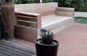 Machen Sie Ihr eigenes Holz Gartenmöbel