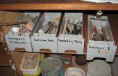 Recycling von Kunststoff in eine handliche Toolbox