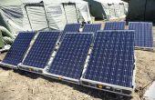 Wie um Ihre Off-Grid Solarbatterien der Größe