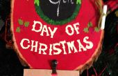 Weihnachten Advent Plaque
