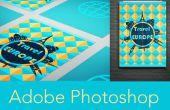 Mit Vorlagen in Adobe Photoshop
