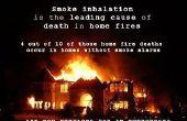 Feuer-Schaden: Bereinigen von Rauch Ruß