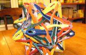 Uheska: ein 3D Karton Stellation