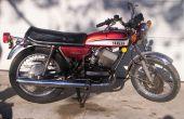 Wie ein altes Motorrad die Wiederbelebung: sparen Sie Geld auf Gas/Benzin! Billige Fahrt!