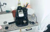 Machen einen unter Druck stehenden Siebträger für eine billige Espresso-Maschine