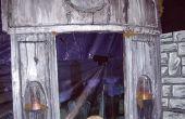 Halloween-Mausoleum aus Styropor