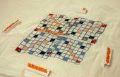 CNC-Stickerei: Stoff Scrabble erinnernden Board