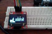 Arduino seriellen Terminal Oled mit Adafruit SSD1306 Bibliothek