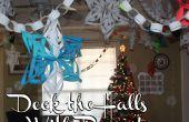 Schmückt die Hallen mit Papier! 3D Schneeflocken, Papier Ketten, Adventskalender und vieles mehr!