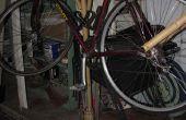 Bambus-Fahrradständer und Fender
