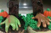 Grabstein-Cupcakes
