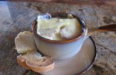 Klassische französische Zwiebelsuppe