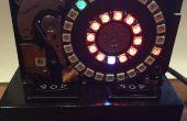 Festplatte NeoPixel 3D-Druck Uhr