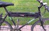 Gewachst Gewirr Leinentasche für Fahrrad
