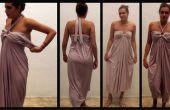 Schönes Kleid - sehr einfache DIY