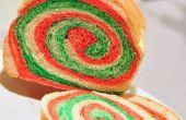 Farbe Wirbel Sandwichbrot