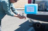 Gewusst wie: Drehen Sie Ihre Abhängigkeit (z. B. Aqua-Pak, Aqua-Tainer etc.) Kanister in ein effizientes waschen Station