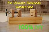 Wie erstelle ich die ultimative hölzernen Schraubstock | DIY Holzbearbeitung Werkzeuge #3