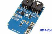 Beschleunigungsmessung mit BMA250 und Arduino Nano