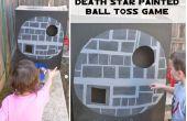 Todesstern gemalt Ball werfen Spiel