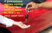 6 kaufen Auto Negotiation Tipps! Der schnellste Weg, um Geld zu sparen!