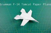 Gewusst wie: Papierflieger Falten: F14 Kampfjet