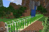 Automatisierte Zuckerrohr Farm In Minecraft PE