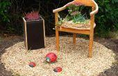 Verwandeln Sie einen alten Stuhl in ein Flowerchair