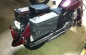 Munition kann Satteltaschen Motorrad