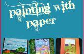 Malen mit Papier