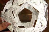 Konstruieren ein Buckyball (Fulleren)
