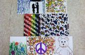 Gewusst wie: Erstellen Sie schmelzen Crayon-Wachs Kunst