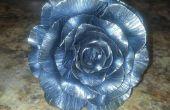 Schmiedekunst Metall Rose