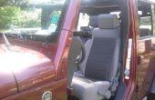 Jeep-Ersatz Spiegel - Ausführung mit Türen aus