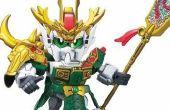 Gundam bb Krieger Prototyp Diashow