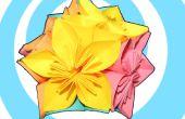 Kusudama Origami Blume + Kugel