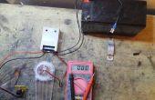 Wiederum ein Solar Laderegler in Wand 12v Ladegerät angetrieben