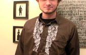 Wie erstelle ich ein Sweeney Todd Vintage inspirierte Rüschen Hemd