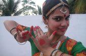 Gewusst wie: ein Bharatanatyam Tanz Kleid tragen