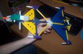 Knex Firehawk-Banshee wandelbare Kampfjet!