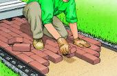 Bauen einen gemauerten Gang
