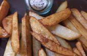 Hausgemachte Pommes frites zu machen!