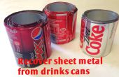 Metall-Schrott - Recycling Getränkedosen zurückfordern