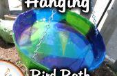 Machen Sie eine hängende Vogeltränke mit Seidenpapier und Harz