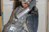 Alice im Wunderland Kostüm - mittelalterliche Rüstung