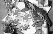 Machen Sie eine M.C. Escher Reptile Puzzle auf Ihren CNC-Router/Mühle